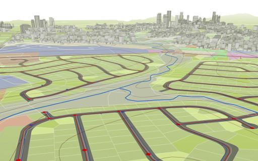 Najava tečaja AutoCAD Map 3D