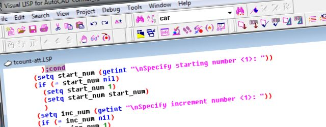 Tečaj Visual LISP/AutoLISP