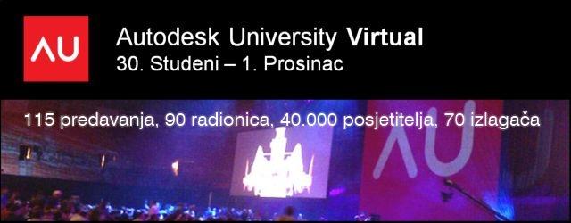 Besplatno na Autodesk University 2010