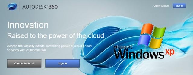 Nakon instalacije AutoCAD-a 2014 pretraživanje ne radi u Windows XP