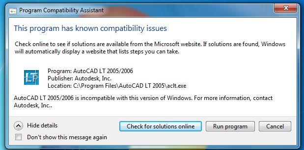 Kompatibilnost AutoCADa i Windows operacijskih sustava