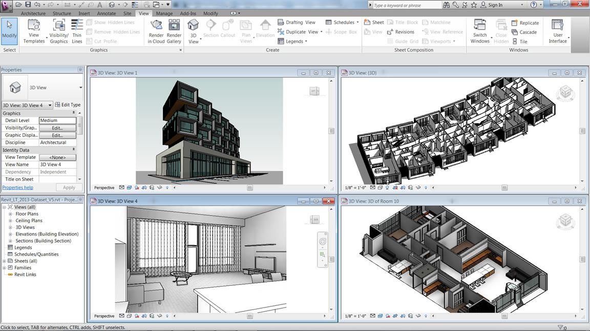 3D vizualizacija projekta
