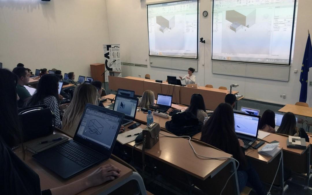 Revit Test Drive na Sveučilištu u Splitu
