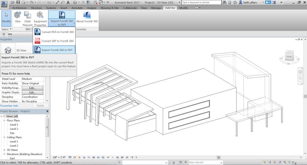 Pretvarač za Autodesk Formit 360