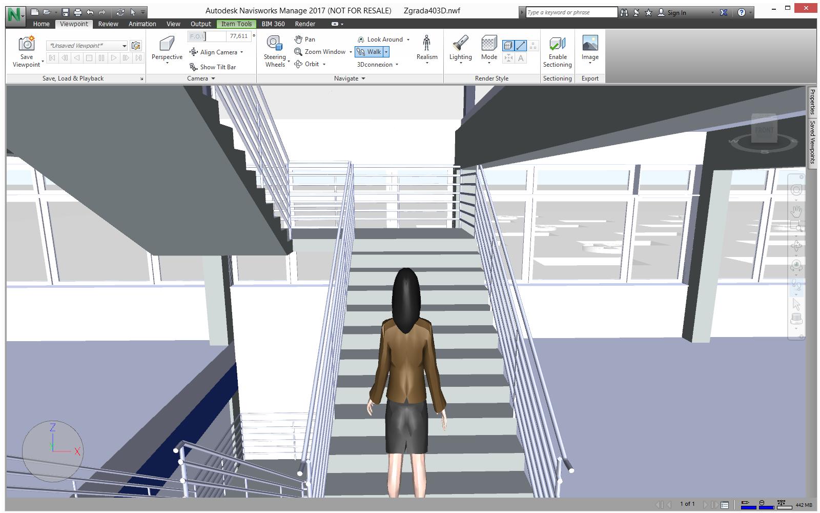 Virtualna šetnja modelom