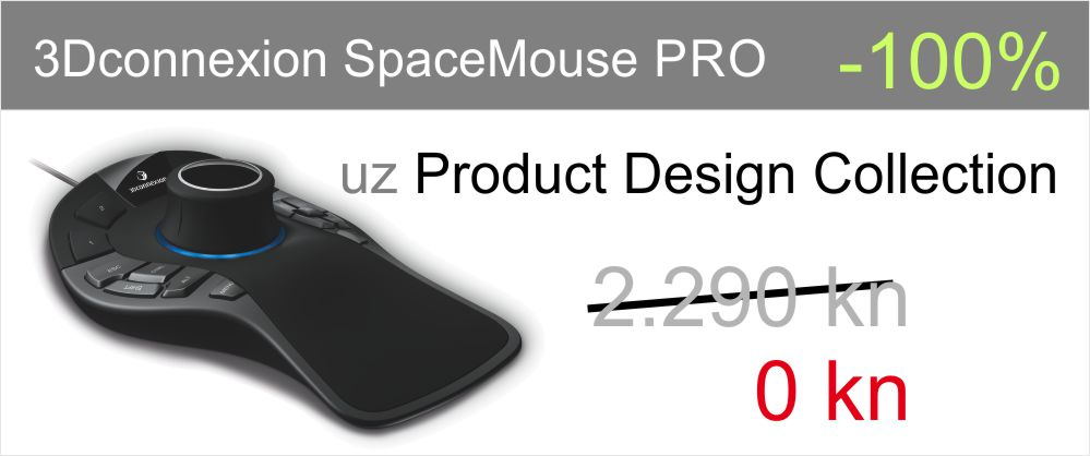 Besplatni SpaceMouse PRO uz PD Collection