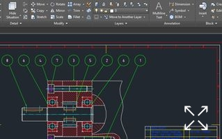 AutoCAD Mechanical je AutoCAD