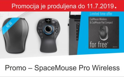 SpaceMouse Pro Wireless promocija