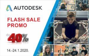 Oglas za kratkotrajni popust na Autodeskove proizvode