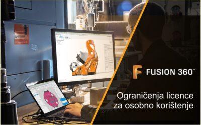 Fusion 360 – licenca za osobno korištenje