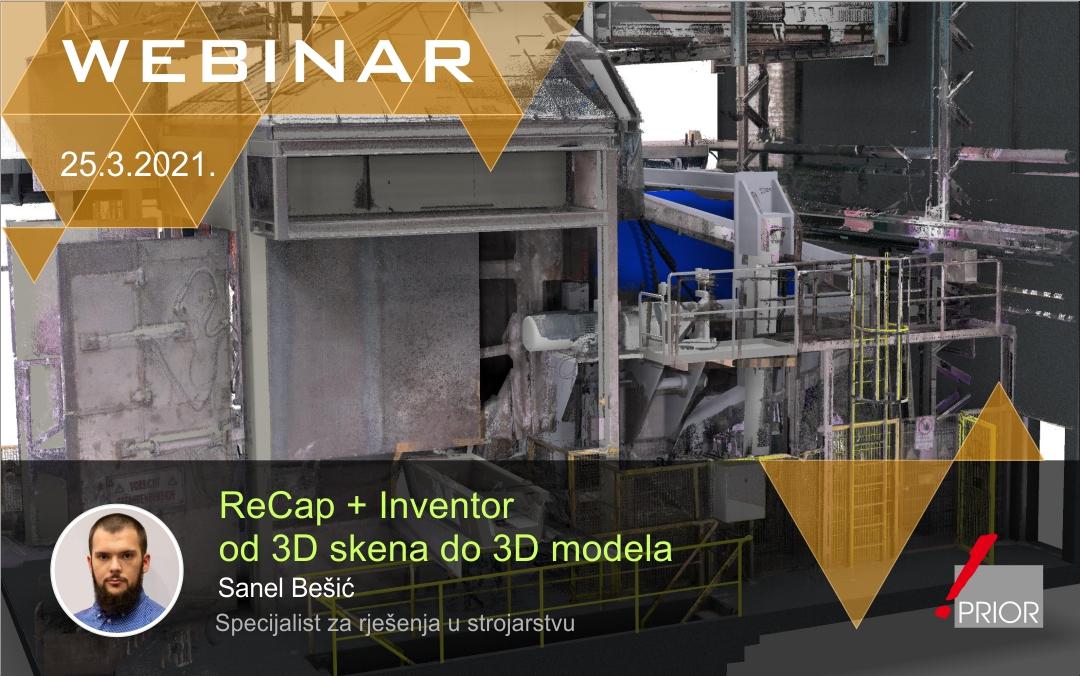 ReCap + Inventor: od 3D skena do 3D modela
