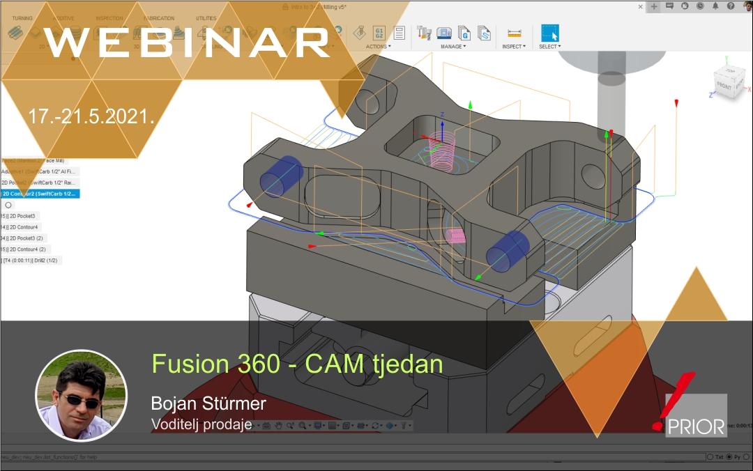 Fusion 360 - CAM tjedan