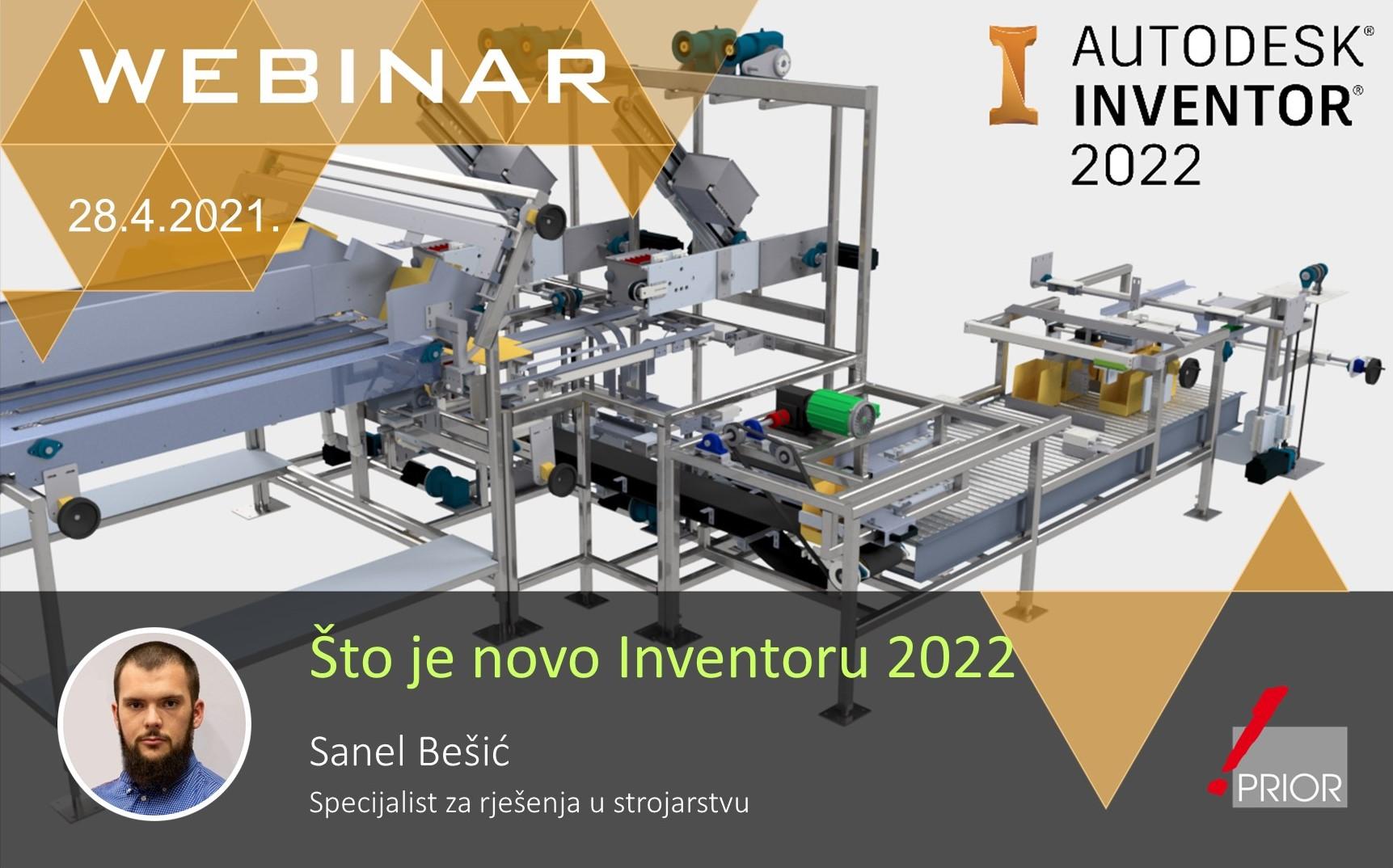 Što je novo u Inventoru 2022