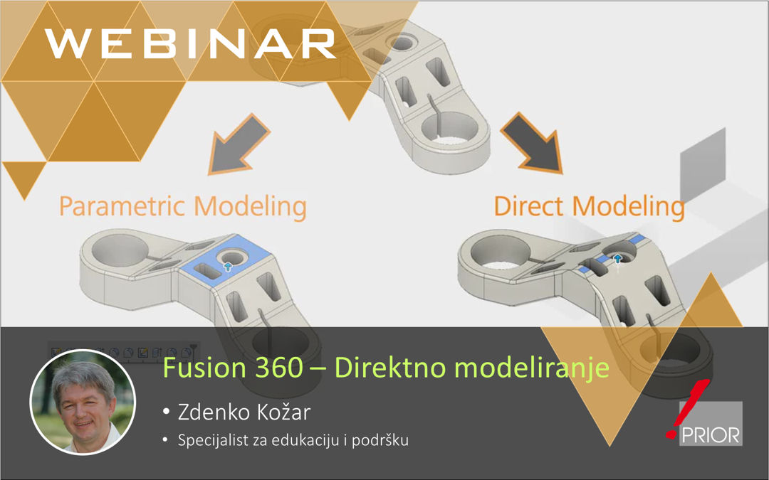 Fusion 360 - direktno modeliranje